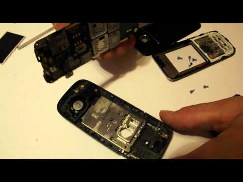 Display Nokia 2730c Disassembly & Assembly - Digitizer, Screen & Case Replacement Repair
