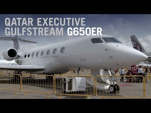 Beyond First Class in Qatar Executive's Gulfstream G650ER Private Jet – AINtv