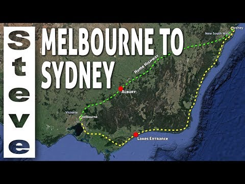 DRIVING FROM MELBOURNE TO SYDNEY The Hume - Part 1🦘🇦🇺