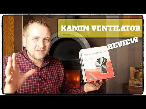 ✅ KLASSE KAMIN VENTILATOR STROMLOS TEST / FUNKTION / REVIEW / DEUTSCH