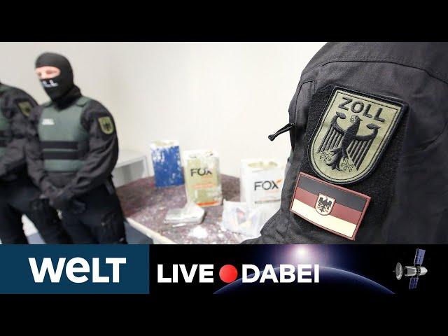 DROGEN IN DEUTSCHLAND: Kriminalität - Das Rauschgiftlagebild 2020 | WELT Live dabei