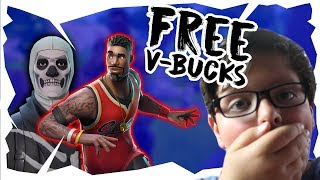 🔴 Pro 12 Year Old Player Playing Fortnite Free V-BUCKS!!! 13,500 v-bucks giveaway At 2000 Subs!