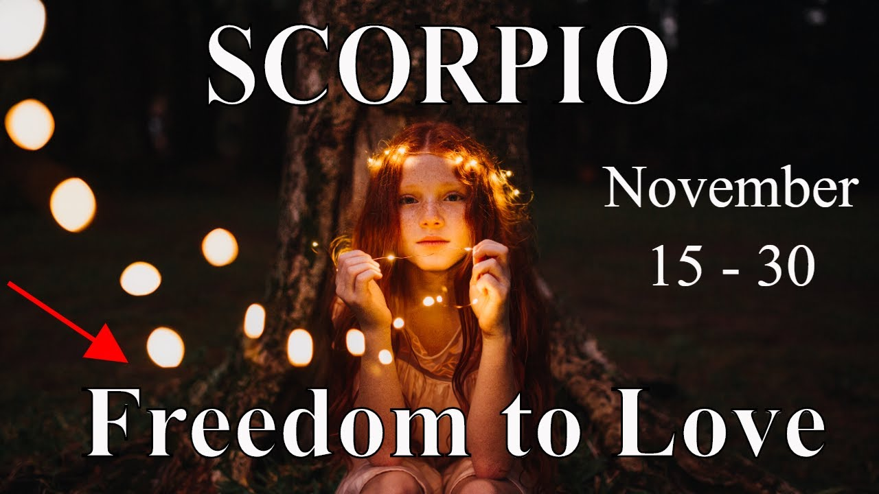 Scorpio ~ Shout it Out Like a Bird Set Free! ~ Psychic Tarot Reading November (15-30) 2020