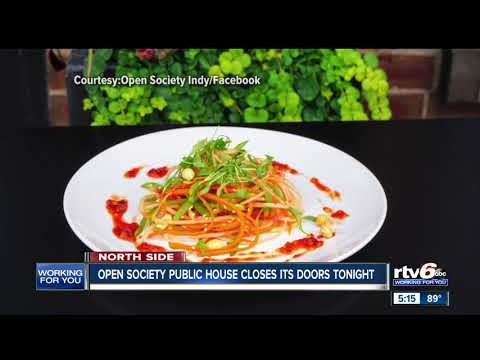 Open Society Public House Closes Restaurant On Indy's North Side