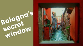 Bologna's Secret Window