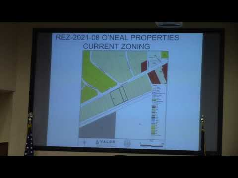 6.a. REZ-2021-08 O'Neal Properties, 2547 US HWY 84 W R-21 to C-H