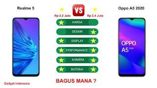 Realme 5 vs Oppo A5 2020 Indonesia | Lebih Bagus Oppo A5 2020 ?