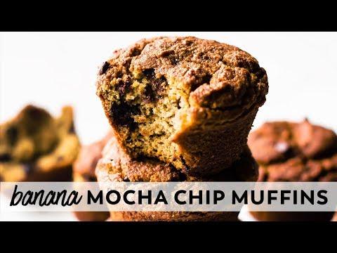 Banana Mocha Chip Muffins {vegan, paleo, gluten-free}