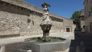 Les fontaines de Pernes les Fontaines (Vaucluse - France)