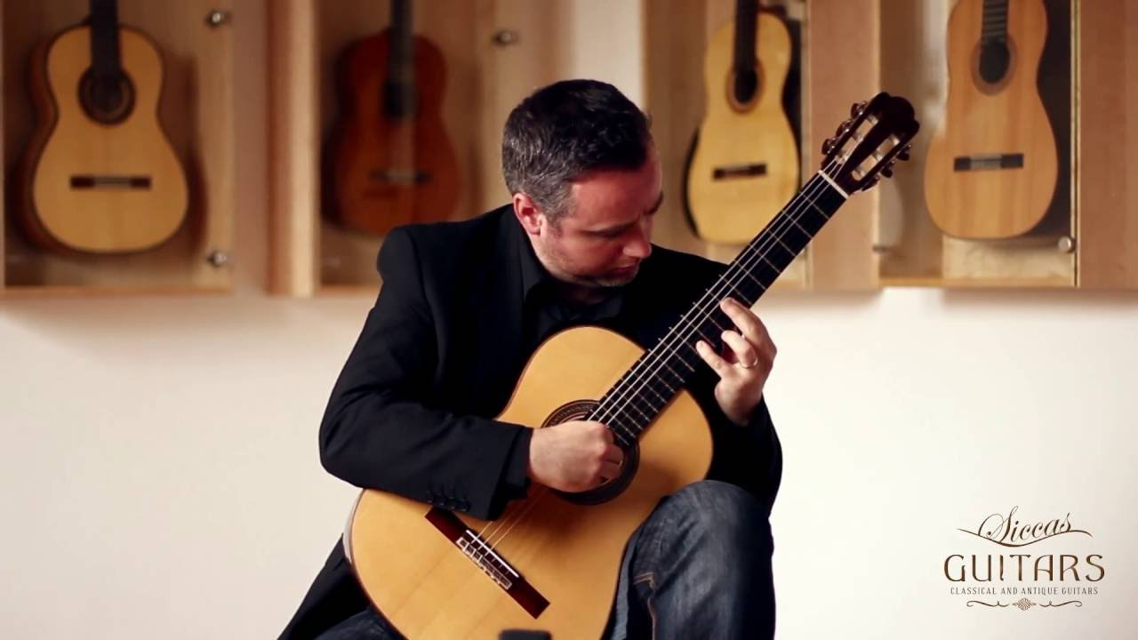 Matthew McAllister plays My Gentle Harp by Thomas Moore on a 2010 Ivan Bruna