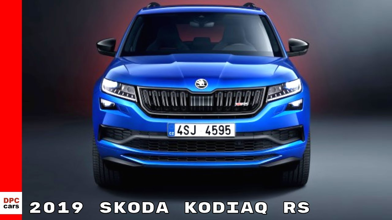 2019 skoda kodiaq rs youtube. Black Bedroom Furniture Sets. Home Design Ideas