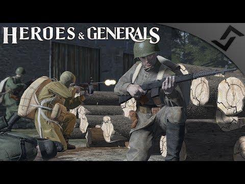 New Gun Sounds SVT-40 Scoped - Heroes and Generals - Soviet Semi-Auto Monster