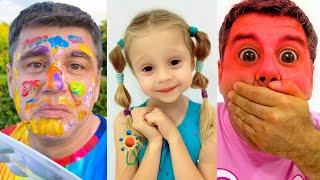 Nastya and Dad - short videos for kids