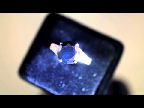 3 33cts Black Diamond