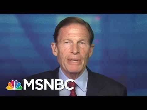 Senator Richard Blumenthal Calls For Tougher Russian Sanctions | Morning Joe | MSNBC