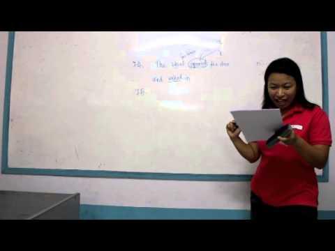 เฉลยข้อสอบอังกฤษ สอบเข้าม.1