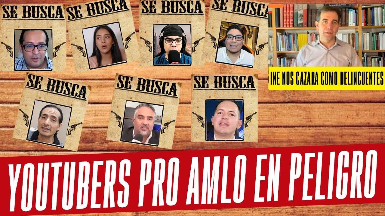 Download ALERTA MÁXIMA! INE ALISTA MULTAS MILLONARIAS A YOUTUBERS PROAMLO. ¡ENTÉRATE!