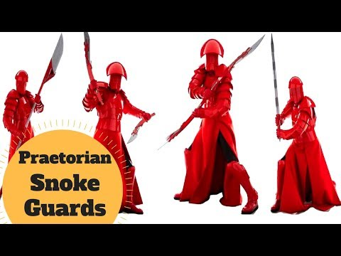 The 4 Types of Snoke's Throne Room Guards - Praetorian Guards Explained - Star Wars Last Jedi Lore