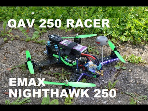 QAV 250 Racecopter Emax nighthawk 250 review (deutsch)