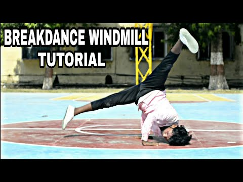 Learn How To Breakdance |Beginning Windmills Pt.1| Power Move Basics By Sunny Arya
