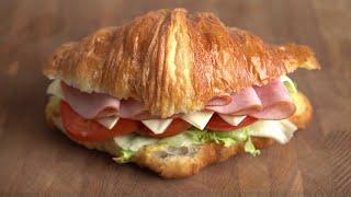 크로와상 샌드위치 :: 색감 좋은 맛있는 샌드위치 ::…