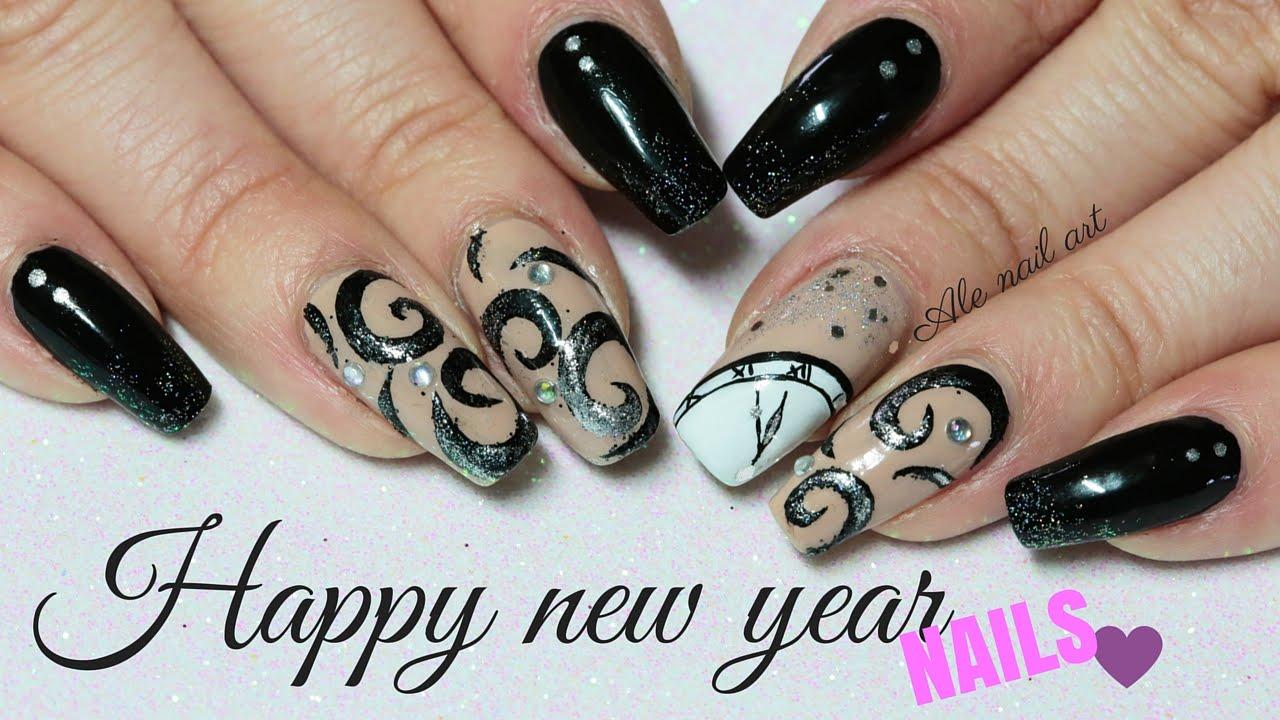 happy year nails ale nail