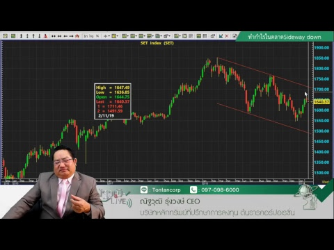 ณัฐวุฒิLive 11ก.พ.62 ภาคบ่าย - ทำกำไรในตลาดSideway down