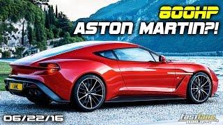 800HP Aston Martin Vanquish, Mercedes-AMG GT R Gets 577-HP, New Nissan Leaf - Fast Lane Daily