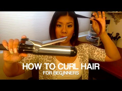 How To Curl Hair For Beginners