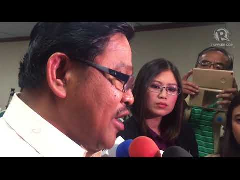 DAR chief Mariano denies allegations of oppositors at Commission on Appointments