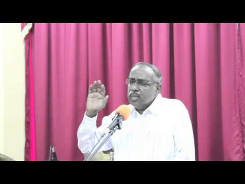 Message by Rev. D. A. Rajendram