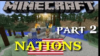 Minecraft PS4 Nations Mini Game: All Is Fair, In Love & War! Episode 2
