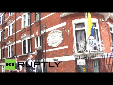 LIVE:  Assange to leave London's Ecuadorian embassy