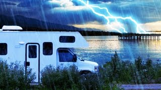 RAIN & THUNDER CAMPING 10 HOURS | Nature Sounds White Noise