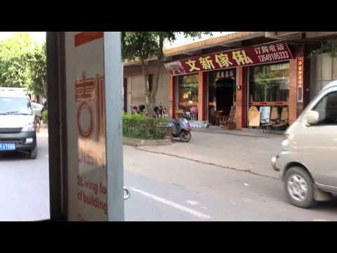Auto Rickshaw Ride in Meizhou city, Guangdong province, China