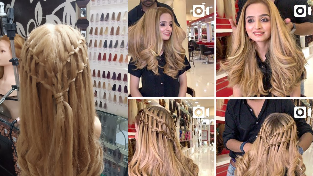 Kashee S Inspired Hairstyle For Party Easy Party Hairstyles For Long Hair Youtube