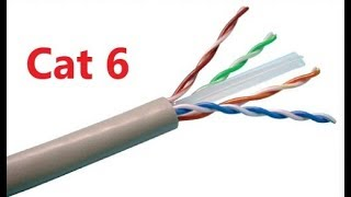 D-Link Cat6 UTP 24AWG 4 Pair Copper Cable