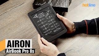 AIRON AirBook Pro 8s — обзор ридера