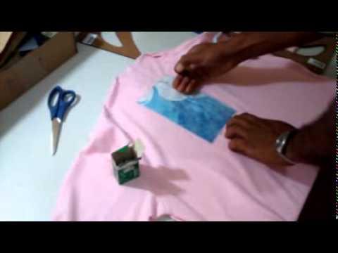 DIY: Fazendo o pate da camisa polo piquet passo à passo part5