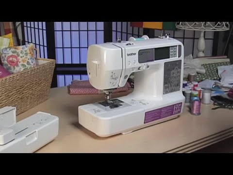 Brother™ Sewing & Embroidery Products – SE-400 Computerized Sewing & Embroidery Machine Overview