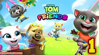 My Talking Tom Friends (By Outfit7) Gameplay Part 1 (Android)