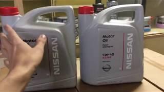 Моторное масло Nissan (как отличить подделку)