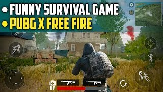 Free Fire Survival Battleground Android Gameplay | PUBG x Free Fire Copy Game screenshot 4