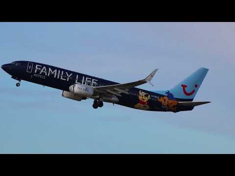 Late Afternoon Spotting at Manchester Airport on 13/02/18