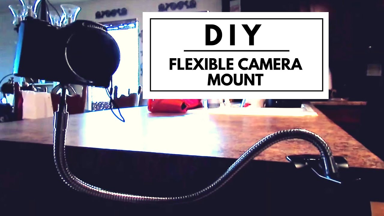 Bolt And Washer >> Diy Flexible Camera Mount - Nerd Builds - YouTube