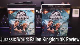Jurassic World: Fallen Kingdom 4K Blu-Ray Review