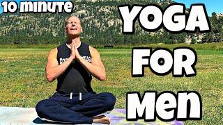 10 min Yoga For Men Full Body Strength Workout   Sean Vigue