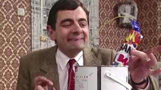 Painting with Fireworks | Mr.Bean Official