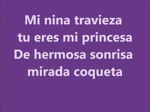 Rey Sanchez-mi Nina Traviesa Con Letras 20114