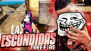 JUGANDO A LAS ESCONDIDAS CON MÁS DE 50 PERSONAS (SALAS PRIVADAS) ●FREE FIRE●
